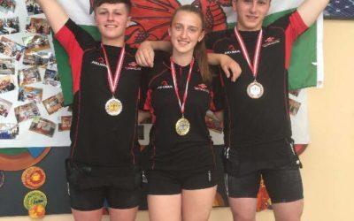Trio gain International success