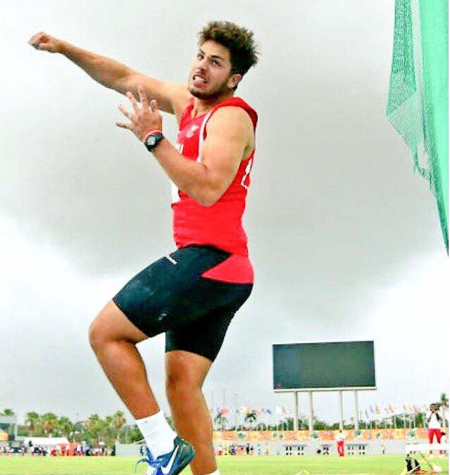 Silver medal at Commonwealth Youth Games, Bahamas