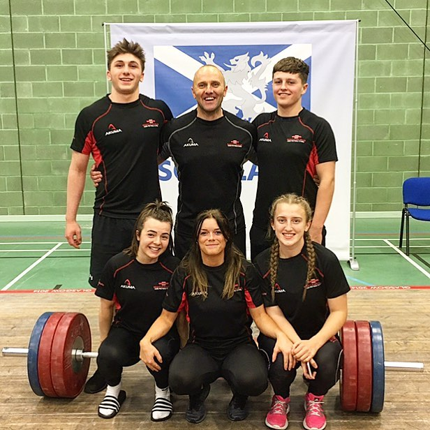 Great lifting by Team SAW at the Celtic Nations representing Team Wales