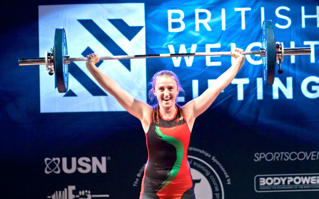 Six SAW members take part in the British Under 20s Weightlifting Championships