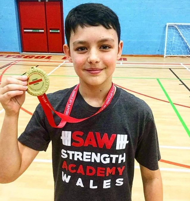 Medalists at Welsh Age Groups