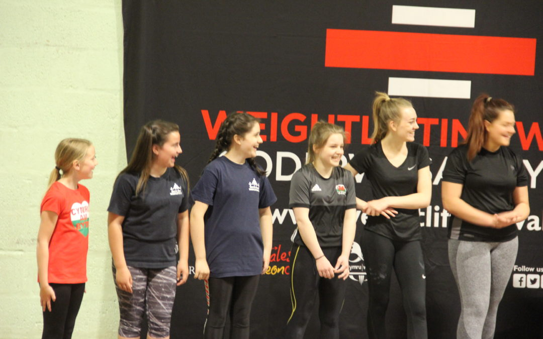 Pembrokeshire hosts Weightlifting Wales Cluster Competition
