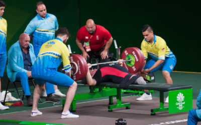 Pembrokeshire volunteer to COACH AT THE EUROPEAN PARA-POWERLIFTING CHAMPIONSHIPS