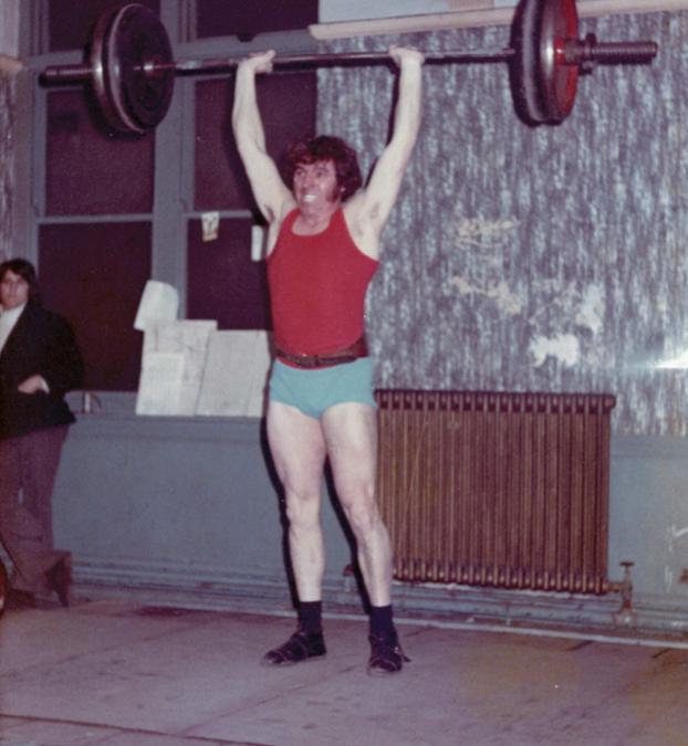 1970's Pembrokeshire Weightlifter Islwyn Jones